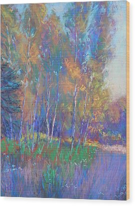 Autumn Fantasy Wood Print by Michael Camp