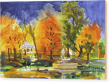 Autumn Gold 2 Wood Print