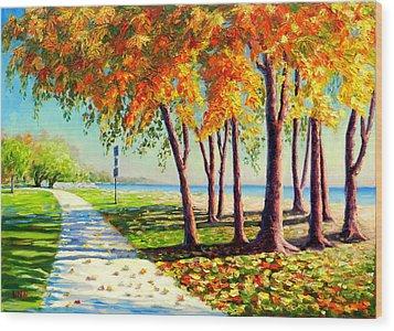 Autumn In Ontario Wood Print