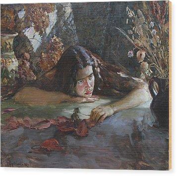 Autumn Wood Print by Korobkin Anatoly