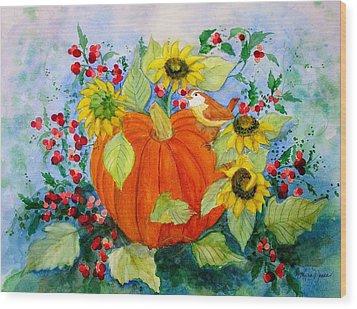 Autumn Wood Print by Laura Nance