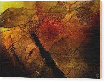 Autumn Leaves  Autumn Comes Wood Print by Gun Legler