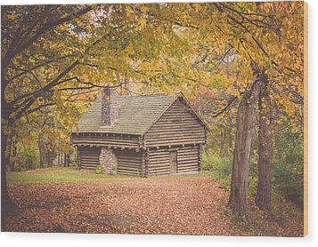 Autumn Retreat Wood Print
