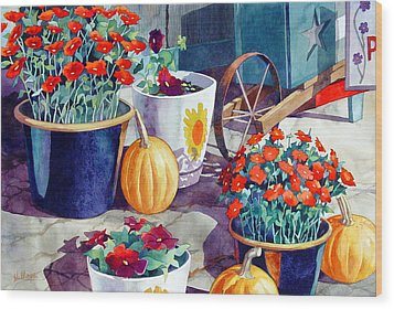 Autumn Still Life Wood Print by Mick Williams