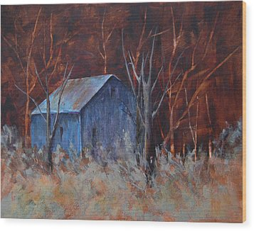 Autumn Surprise Wood Print by Lee Beuther