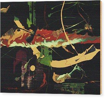 Autumn Winds Wood Print