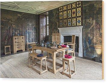 Avebury Manor Wood Print by Svetlana Sewell