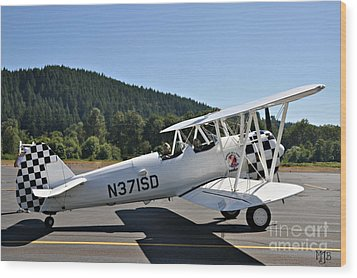 Wood Print featuring the photograph Aviation Dreams by Mindy Jo Bench