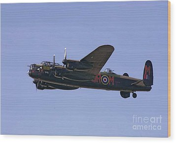 Avro 638 Lancaster At The Royal International Air Tattoo Wood Print by Paul Fearn