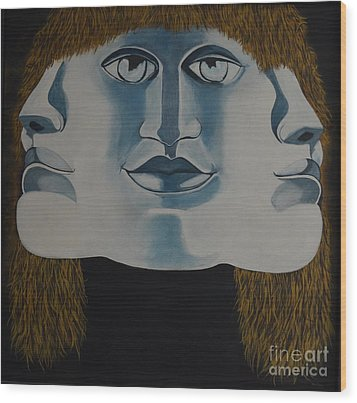 Awaken To All Who Dwell Inside Wood Print by Stuart Engel