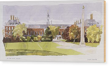 The Royal Hospital  Chelsea Wood Print by Annabel Wilson