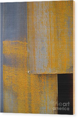 Axis Wood Print by Robert Riordan