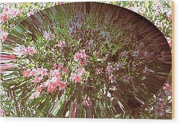 Azalea Bouquet Wood Print