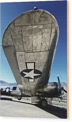 B 17 Sentimental Journey Wood Print