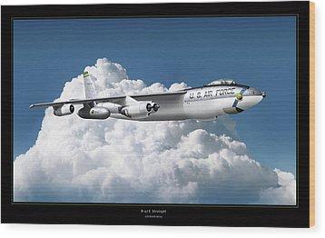 B-47 Stratofortress Wood Print by Larry McManus