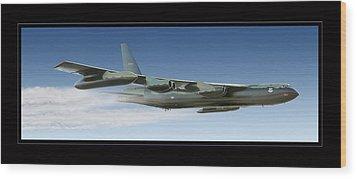 B-52 Stratofortress Wood Print by Larry McManus