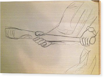 B Unt Wood Print by Joe Davis