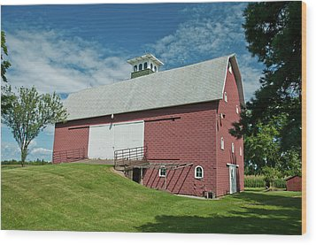 Wood Print featuring the photograph Babcock Barn 2263 by Guy Whiteley