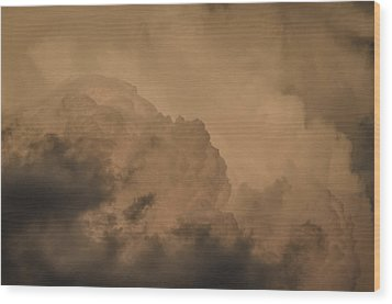 Wood Print featuring the photograph Baby In The Clouds by Bradley Clay