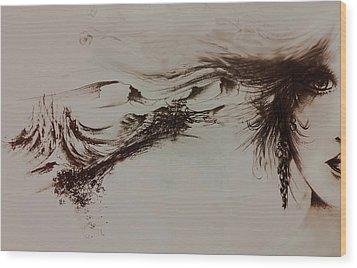 Babylon Wood Print by Rachel Christine Nowicki
