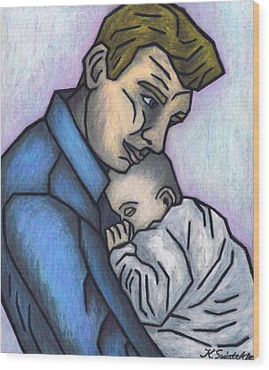 Baby's Lullaby Wood Print by Kamil Swiatek
