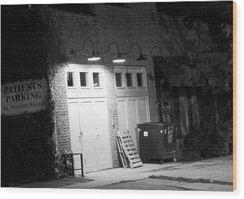 Back Entrance Wood Print by Jim Finch