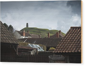 Wood Print featuring the photograph Back Yard Tor by Stewart Scott