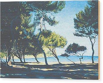Badia De Alcudia -- Mallorca Wood Print
