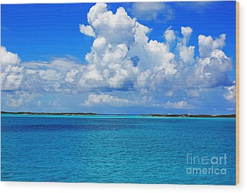 Bahama Blues 5 Wood Print
