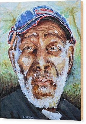 Bahamian Old Man Wood Print