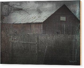 Bahn Wood Print by Cynthia Lassiter
