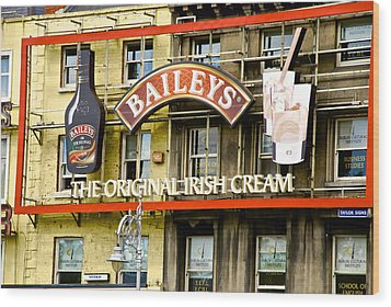 Baileys Irish Cream Wood Print