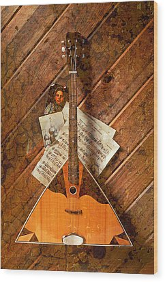 Balalaika Wood Print by Garry Gay