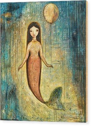 Balance Wood Print by Shijun Munns