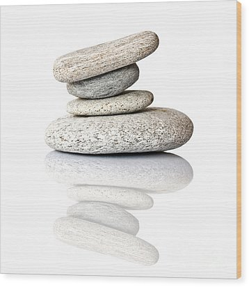 Balanced Wood Print by Delphimages Photo Creations