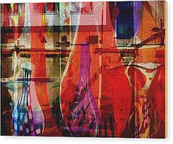 Balboa Glasslight Wood Print