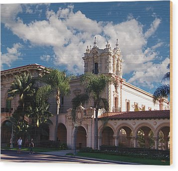 Balboa Park - Casa De Balboa Wood Print
