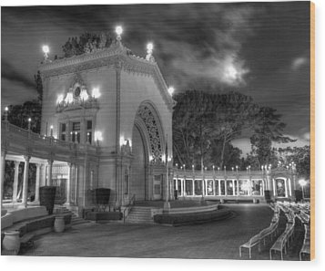 Balboa Park Organ Pavilion Wood Print
