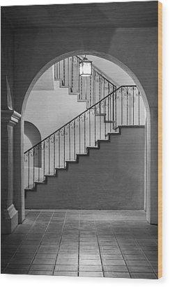Balboa Park Stairs Wood Print