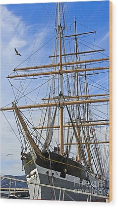 Wood Print featuring the photograph Balclutha by Kate Brown