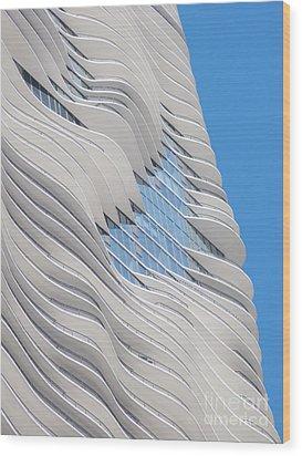 Balconies Wood Print