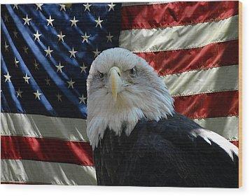 Bald Eagle 321 Wood Print by Joyce StJames