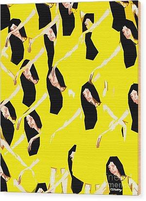 Ballet Dancers Wood Print by Patrick J Murphy