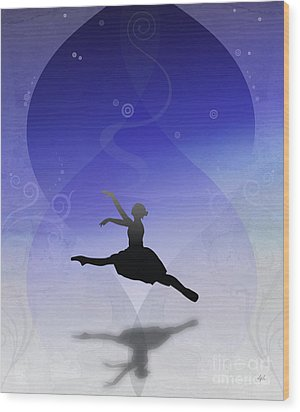 Ballet In Solitude  Wood Print by Bedros Awak