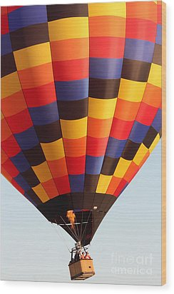 Balloon-color-7277 Wood Print by Gary Gingrich Galleries