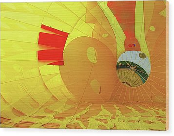 Wood Print featuring the photograph Balloon Fantasy 6 by Allen Beatty