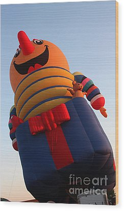 Balloon-jack-7660 Wood Print by Gary Gingrich Galleries