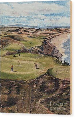 Kerry  Ballybunion G C Wood Print
