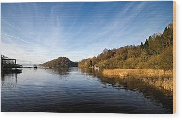 Wood Print featuring the photograph Balmaha by Stephen Taylor
