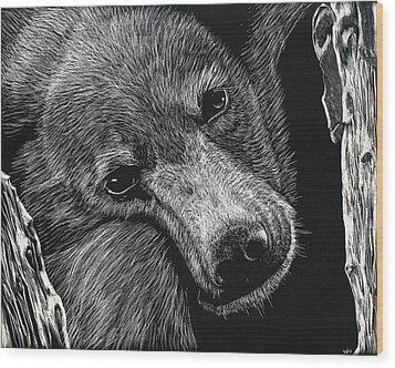 Baloo Wood Print